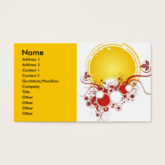 last_summer_rays, Name, Address 1, Address 2, C... Business Card