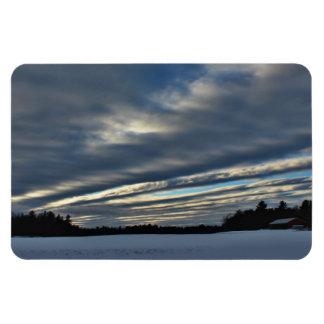 Last Sunset Sky 2015 Magnet