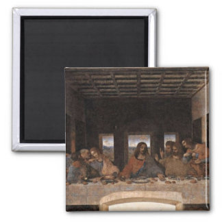 Last Supper 2 Inch Square Magnet