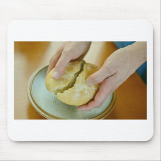 Last Supper bread Mouse Pad