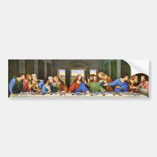 Last Supper Bumper Sticker