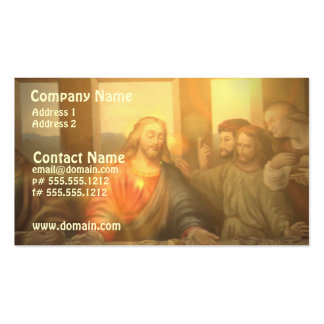 Last Supper Business Card