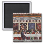 Last Supper, By Andrea Del Castagno Refrigerator Magnets