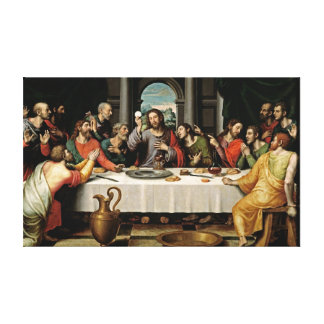 Last Supper Gallery Wrapped Canvas