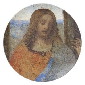 Last Supper - Christ Melamine Plate