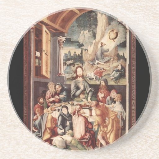 Last Supper Drink Coasters