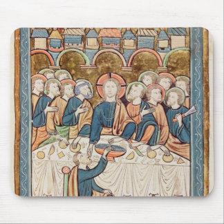 Last Supper, from 'Psautier a l'Usage de Paris Mouse Pad