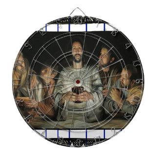 LAST SUPPER  JESUS CRIST CATHOLIC 03 CUSTOMIZABLE DARTBOARD