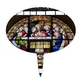 LAST SUPPER  JESUS CRIST CATHOLIC 04 CUSTOMIZABLE CAKE TOPPERS