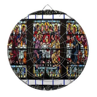 LAST SUPPER  JESUS CRIST CATHOLIC 04 CUSTOMIZABLE DARTBOARD