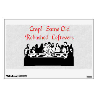 Last Supper Leftovers Wall Skin
