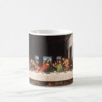 Last Supper-Leonardo da Vinci Basic White Mug