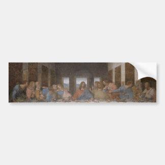 Last Supper Leonardo Da Vinci Painting Bumper Sticker