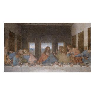 Last Supper Leonardo Da Vinci Painting Double-Sided Standard Business Cards (Pack Of 100)