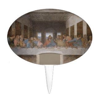 Last Supper Leonardo Da Vinci Painting Cake Topper
