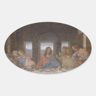 Last Supper Leonardo Da Vinci Painting Sticker