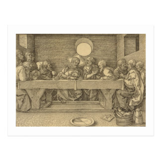 Last Supper Postcard