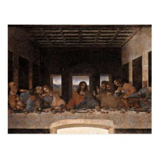 Last Supper Postcard