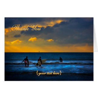 Last Surf Of The Day - Get Well Soon Greeting Card