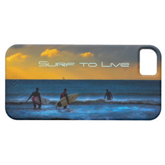 Last Surf Of The Day iPhone 5 Covers