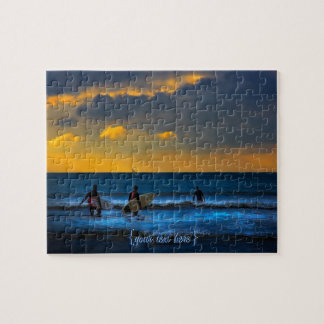 Last Surf Of The Day Jigsaw Puzzle