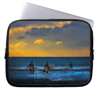 Last Surf Of The Day Laptop Computer Sleeves