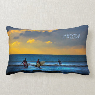 Last Surf Of The Day Pillow