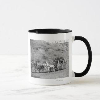 "Last Trip of the ""Deadwood Coach"" Photograph Mug"