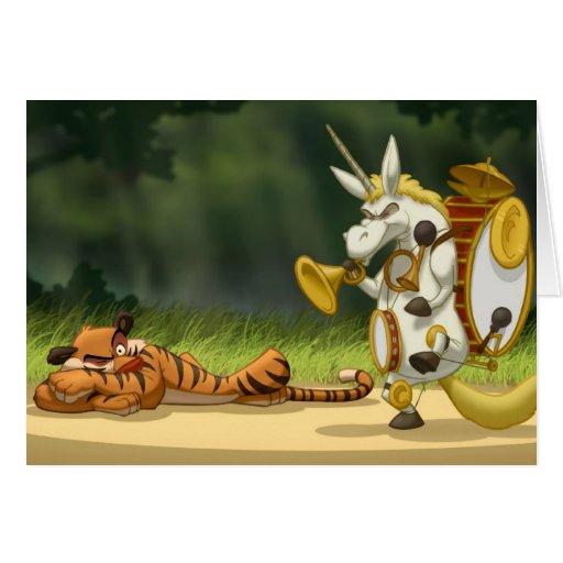 Last Unicorn Card (Blank Inside)