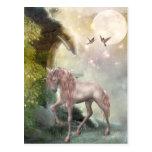 last unicorn postcard