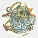 Last Voyage Round Sticker