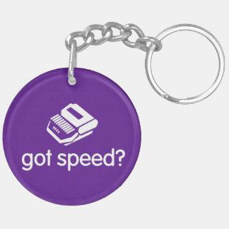 last word/ got speed steno keychain