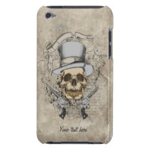 Last Word Skull & Guns Case-Mate iPod Touch Case