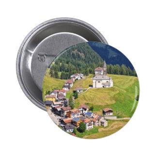Laste village - Italy Pinback Buttons