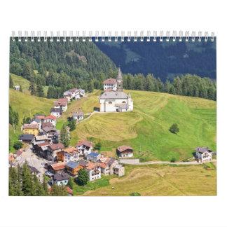Laste village - Italy Calendar