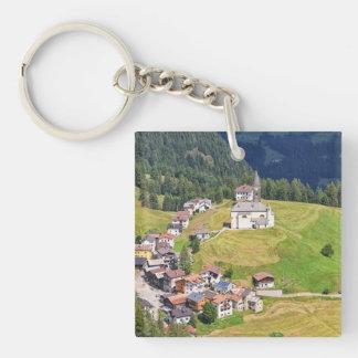 Laste village - Italy Key Chain