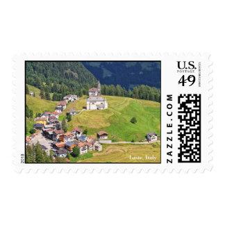 Laste village - Italy Postage