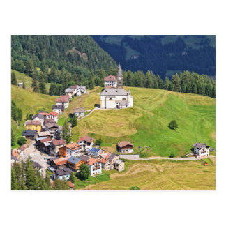 Laste village - Italy Postcard