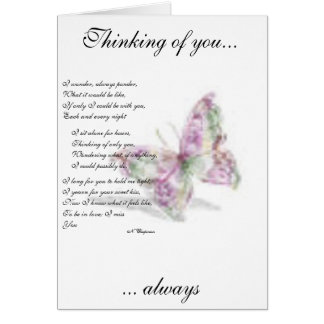 Lasting heartache greeting cards