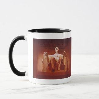 """Lasting Impression"" Lincoln Memorial Art Mug"