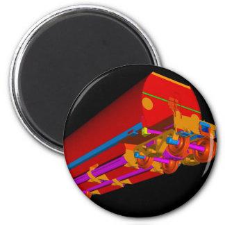 Lastre 3D-3 de YJ Imán Redondo 5 Cm