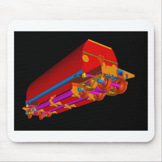 Lastre 3D-3 de YJ Tapetes De Raton