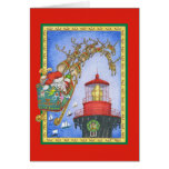 LastStop Lighthouse Greeting Card