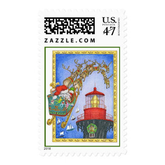 LastStop Lighthouse Postage