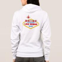 LASVEGAS BRIDE Women's Fleece Hoodie Sweatshirt