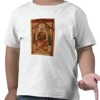 Lat 1152 f.3v Charlemagne (Carolus Magnus, Charles Tee Shirts