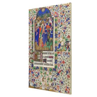 Lat 1156 f 133 el beso de Judas a partir de las h Lona Envuelta Para Galerias