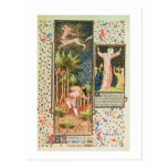 Lat 9471 f.16r November, from the Grandes Heures d Postcard
