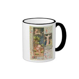 Lat 9471 f.16r noviembre, del Grandes Heures d Tazas De Café