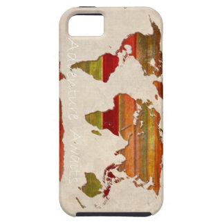 Lat Stripes Map iPhone SE/5/5s Case
